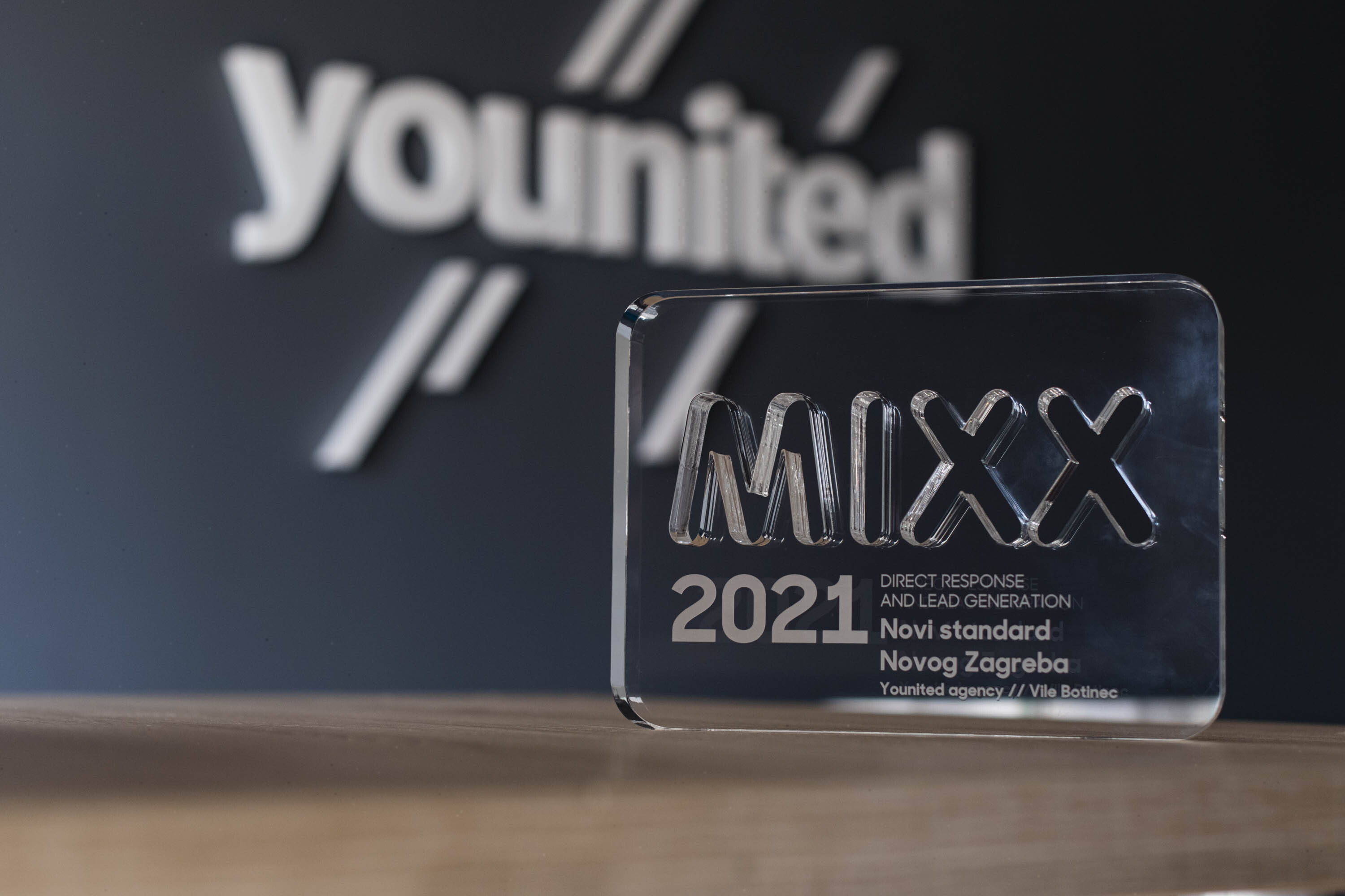"""We won our second MIXX Award for best """"Direct Response and Lead Generation Campaign"""" - 2"""